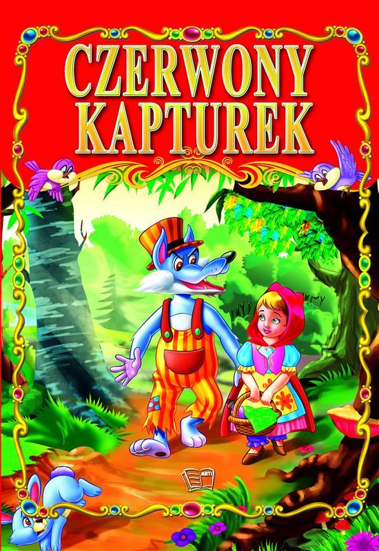 CZERWONY KAPTUREK /36 str./ oprawa twarda
