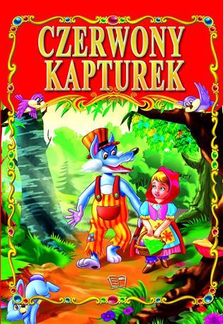 CZERWONY KAPTUREK /36 str./ oprawa twarda-66