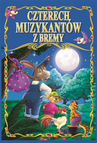 CZTERECH MUZYKANTÓW Z BREMY /36 str./ oprawa twarda-68