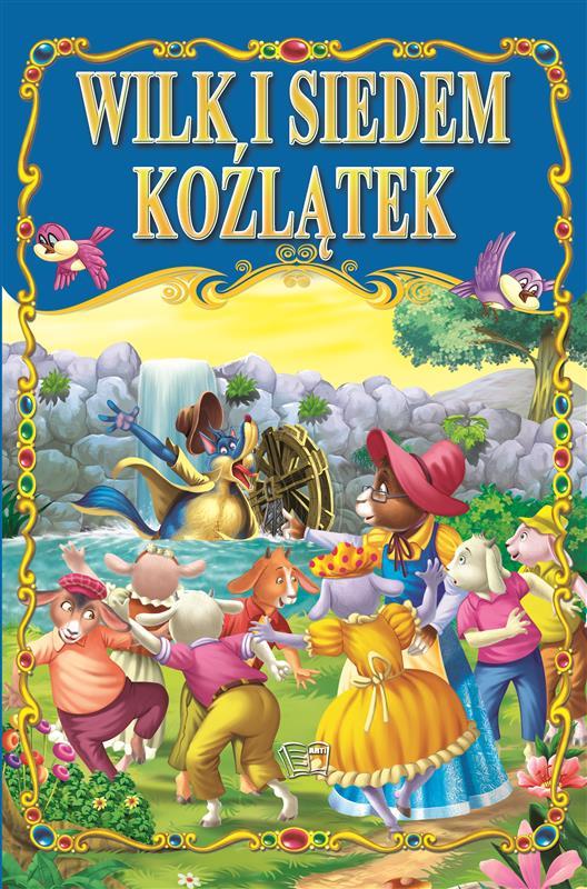WILK I SIEDEM KOŹLĄTEK /36 str./ oprawa twarda