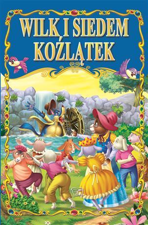 WILK I SIEDEM KOŹLĄTEK /36 str./ oprawa twarda-89