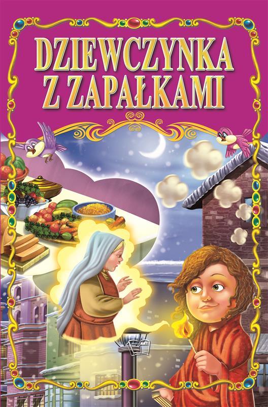 DZIEWCZYNKA Z ZAPAŁKAMI /36 str./ oprawa twarda