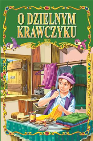 O DZIELNYM KRAWCZYKU /36 str./ oprawa twarda-79