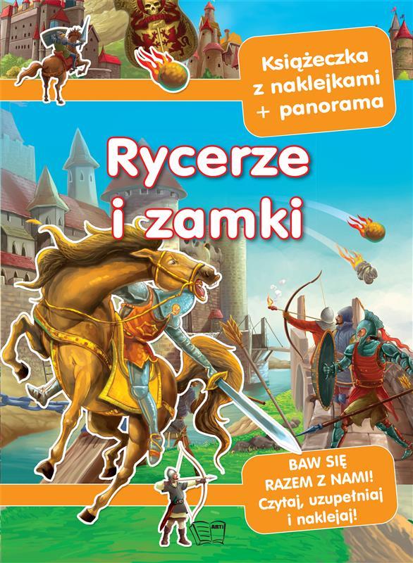 PANORAMY Z NAKLEJKAMI-RYCERZE I ZAMKI