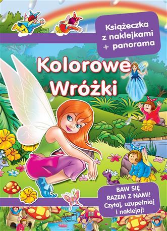 PANORAMY Z NAKLEJKAMI-KOLOROWE WRÓŻKI-387