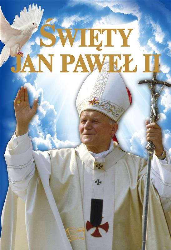 ŚWIĘTY JAN PAWEŁ II(niebieski)