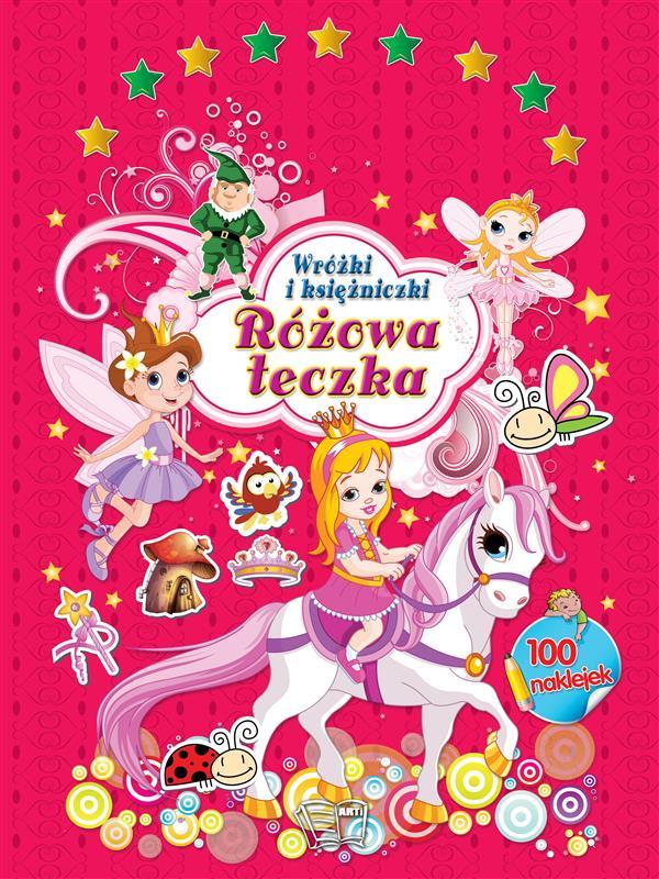 RÓŻOWA TECZKA-Wróżki i księżniczki-352