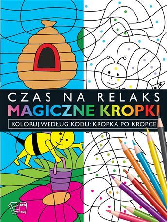 MAGICZNE KROPKI-Kropka po kropce-pszczoła-35
