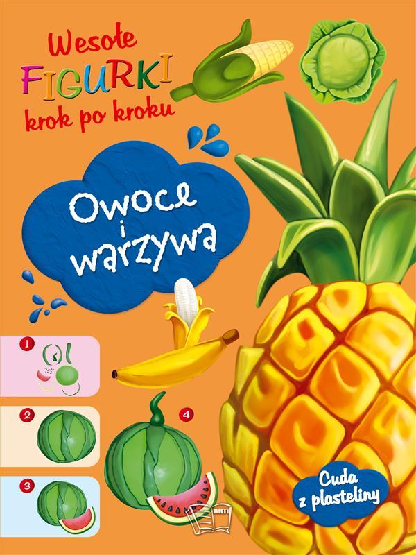 WESOŁE FIGURKI-Owoce i warzywa
