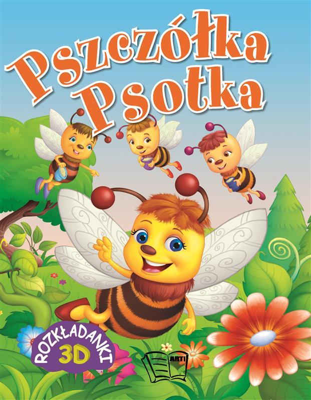 ROZKŁADANKI - PSZCZÓŁKA PSOTKA 16 str.