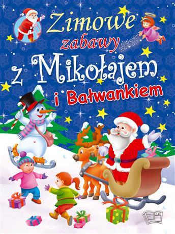 Zimowe zabawy z Mikołajem i Bałwankiem-403