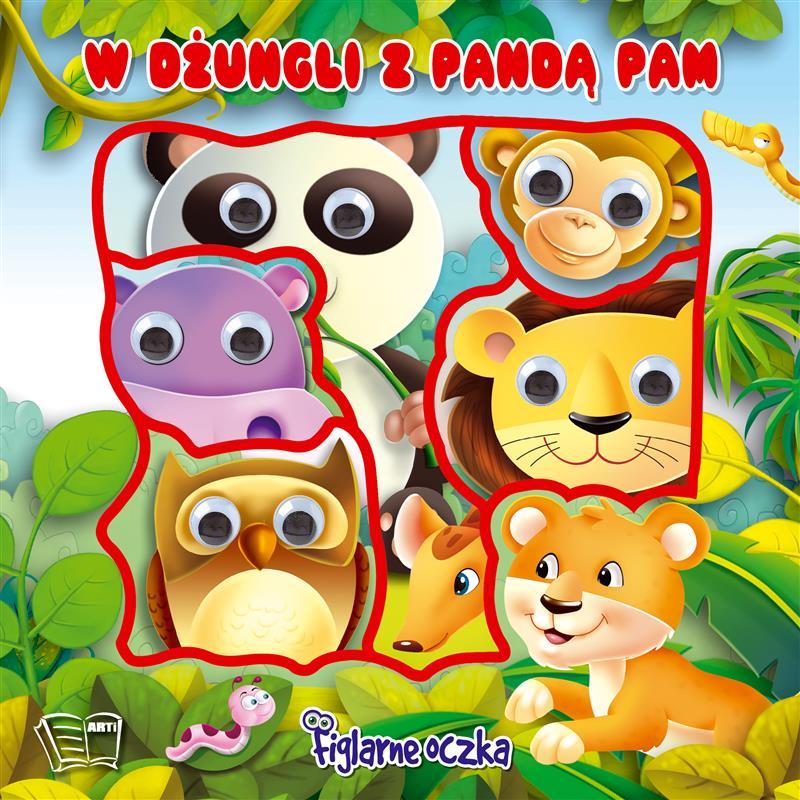 FIGLARNE OCZKA-w dżungli z Pandą Pam
