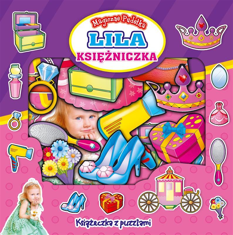 MAGICZNE PUDEŁKA - KSIAŻECZKI Z PUZZLAMI - Księżniczka Lila-303