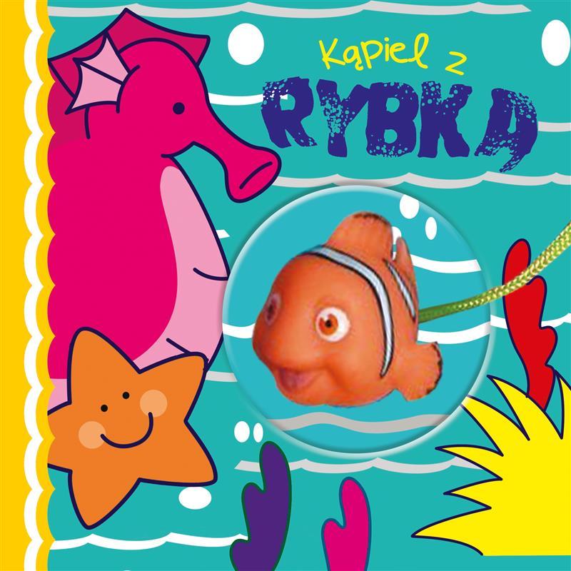KSIĄŻECZKA KĄPIELOWA Z ZABAWKĄ - Kąpiel z rybką-514