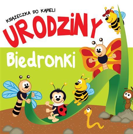 KSIĄŻECZKA KĄPIELOWA Z ZAKŁADKAMI - Urodziny biedronki-518